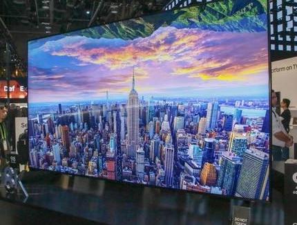 三星向中国市场推出了新款QLED 8K电视 开启了中国的超高清8K时代