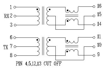 16STXXXX系列变压器的数据手册免费下载