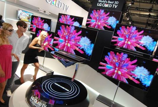 LG电子OLED电视的销售在六年内突破了400万...