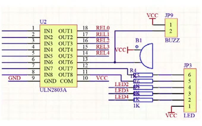 声光电报警器的电路图详细资料说明