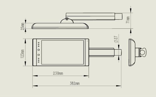 D801A 8 寸人脸识别一体机的详细资料说明