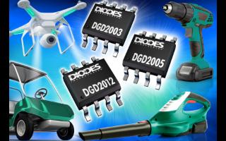 Diodes新系列高側/低側閘極驅動器采用 SO...