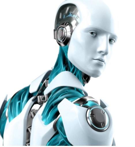 麦田里来个机器人 自走式打药机
