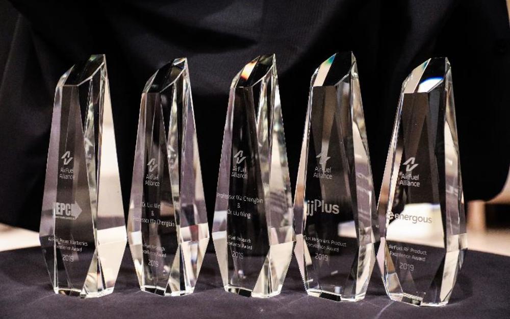 AirFuel颁发long88.vip龙8国际领袖奖 表彰无线电力行业杰出贡献者