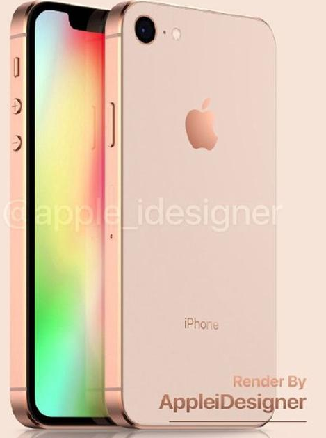 iPhone SE2曝光将采用铝合金边框5英寸刘海屏设计搭载A12芯片