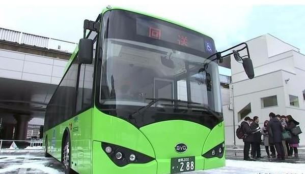 比亚迪K9电动客车已成功出口多个发达国家