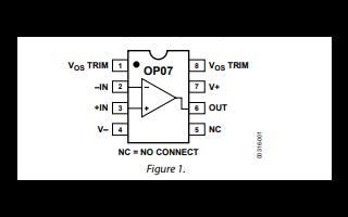OP07超低失调电压运算放大器芯片的中文数据手册免费下载