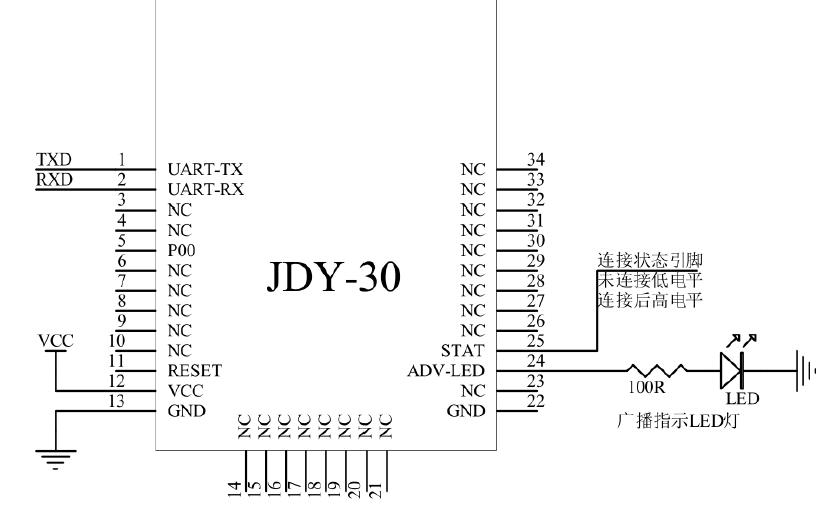JDY-30 SPP蓝牙??榈慕樯芎痛诘魇怨ぞ呒袄堆来诿夥严略? />    </a> </div><div class=