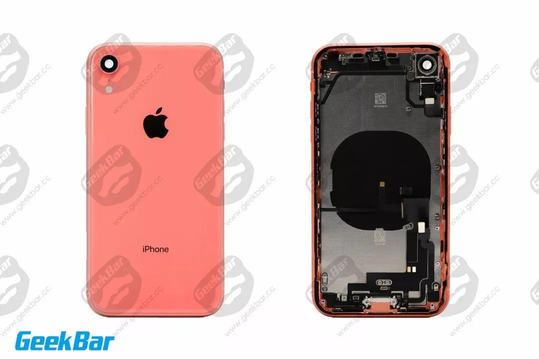 iphonexr拆解 内部设计和做工并没有因为低廉售价而缩水