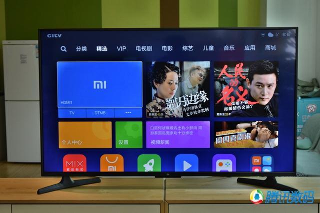 55英寸小米电视4A评测 值不值得买