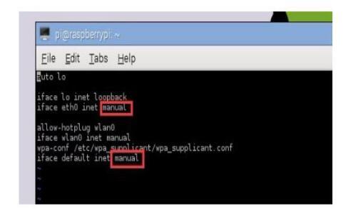 树莓派怎么设置静态ip