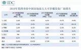 IDC发布了《2018Q4中国可穿戴设备市场季度跟踪报告》