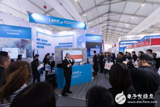 2019慕尼黑上海电子展上莱尔德高性能材料提出新一代解决方案