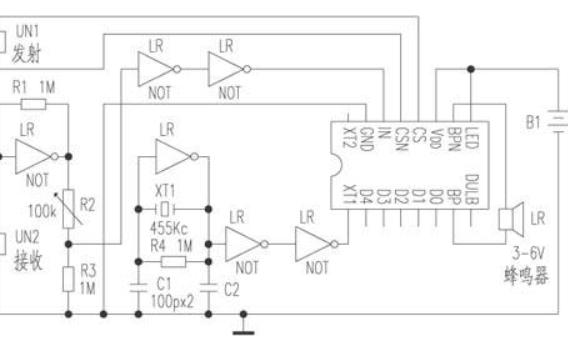 高精度超声波测距仪的设计资料说明