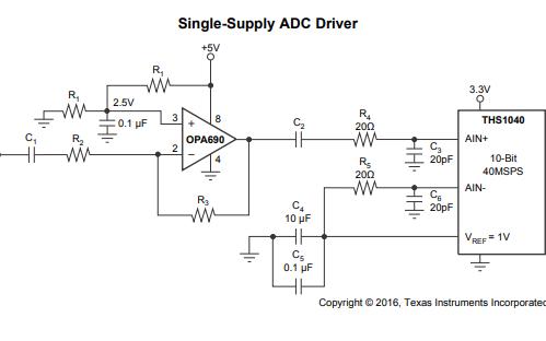 OPA690宽带电压反馈运算放大器的数据手册免费下载