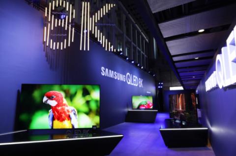 三星QLED 8K电视的发布 将推动电视行业加速...