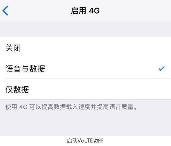 中国电信正式开通VoLTE功能用户可以在4G网络...