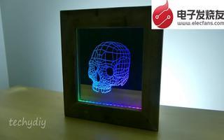 在Arduino开发平台上自制色彩变幻的骷髅镜