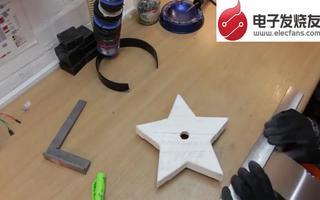 利用ESP8266 WiFi模块打造科进行遥控的圣诞之星