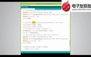 利用Arduino开发平台制作彩虹糖自动分拣机