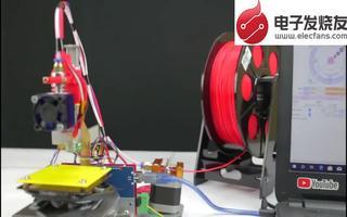 利用Arduino开发平台与DVD制作出3D打印机