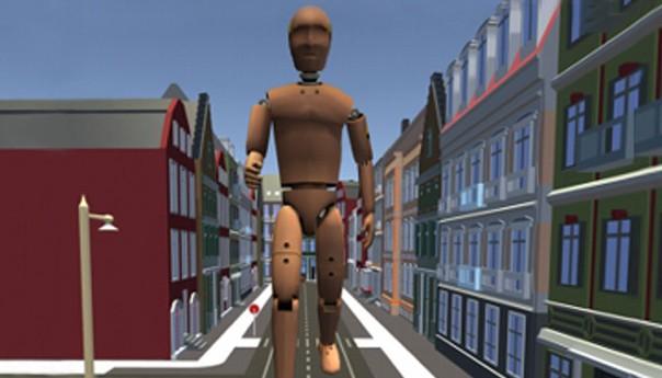 放大用户来压缩距离,帮助带来适用于不同物理环境的通用VR体验