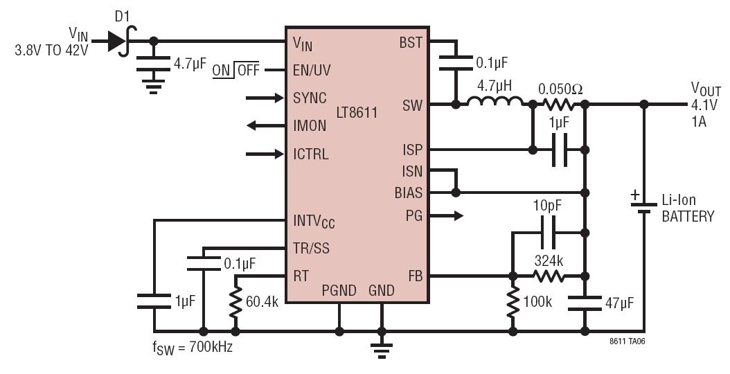 基于LT8611与AD5245芯片实现微功率太阳能MPPT电池充电器的设计
