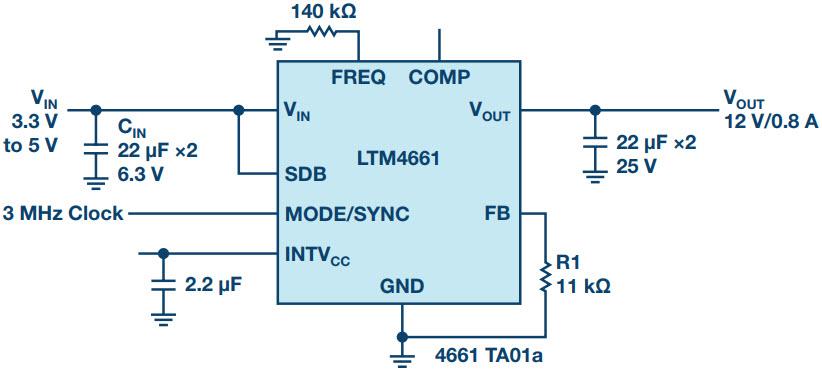 μModule稳压器在物联网设备中的应用