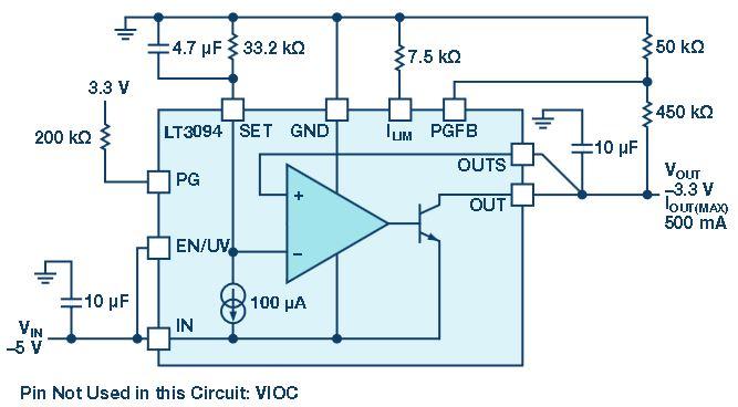 低压差线性稳压器的性能及设计解决方案
