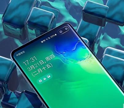 三星S10系列手机曝光将采用infinity-O技术的OLED屏幕