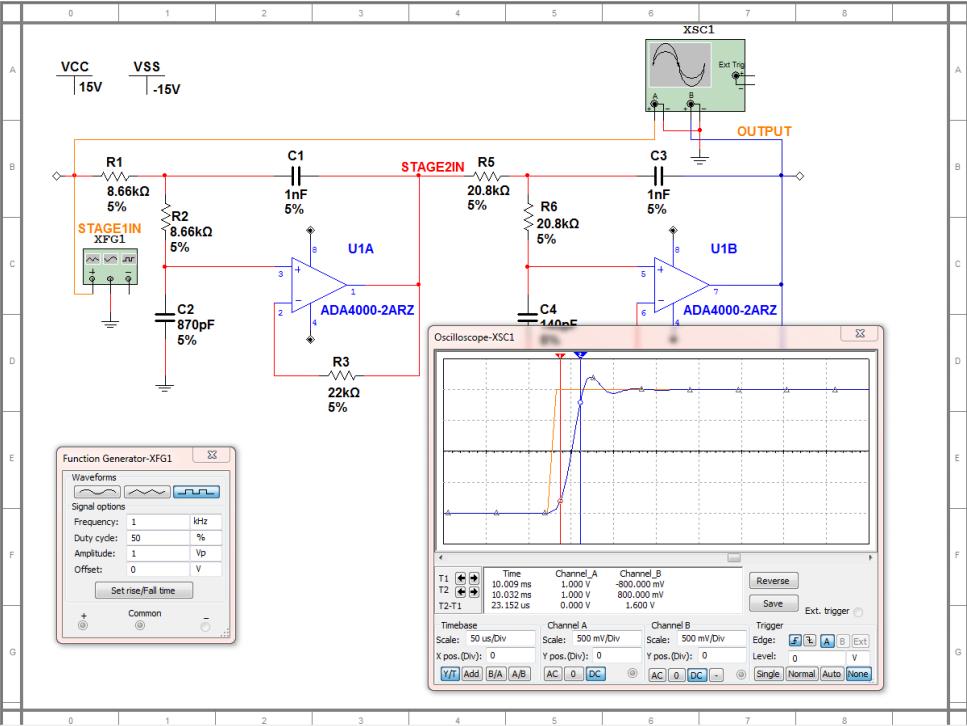 通過SPICE仿真軟件加速并改善過濾器設計
