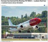 欧洲航空安全局暂停波音737运作