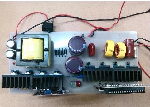 STC单片机对逆变器的设计