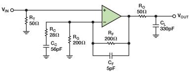 对增益为9倍以上还性能稳定的放大器进行补偿的两种方法介绍