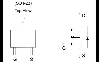 ME2306A逻辑增强型功率场效应晶体管的数据手册免费下载
