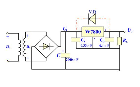 三端集成稳压器的原理和分类及应用电路等资料详细说明