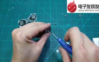 LED指尖陀螺的制作方法