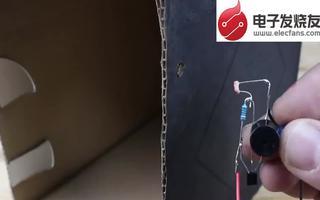 用一些简单器件自制激光防盗报警器