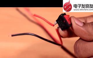 利用降压电路进行制作摩托车手机充电器