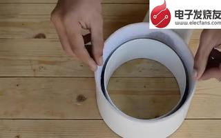用PVC管自制无叶风扇的方法
