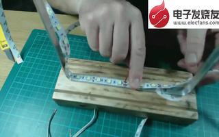 自制LED炫酷镜子的过程介绍