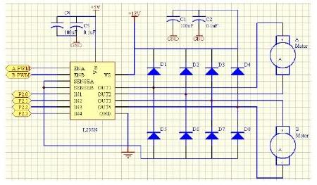 基于ir2014s功放做的电机驱动模块详细资料说明