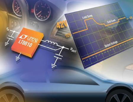 采用LT8610A和LT8610AB降低汽车DDR电源的待机电流