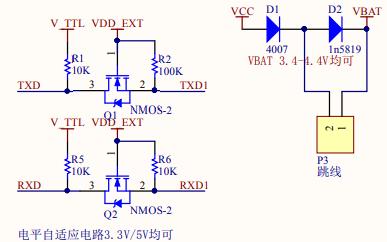 SIM800C GPRS模块的电路原理图免费下载