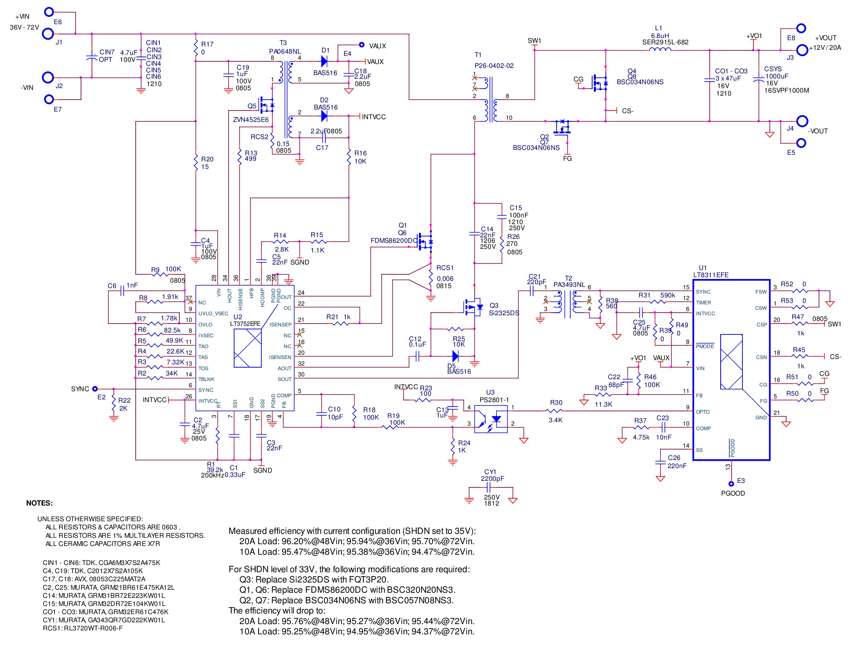 针对正激转换器拓扑进行设计的两款芯片介绍