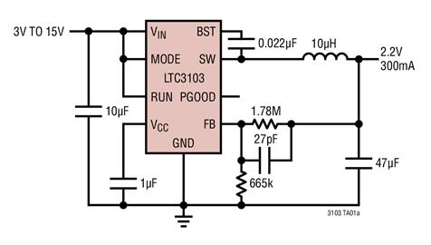 降压转换器的低输出电压噪声和高效率解决方案