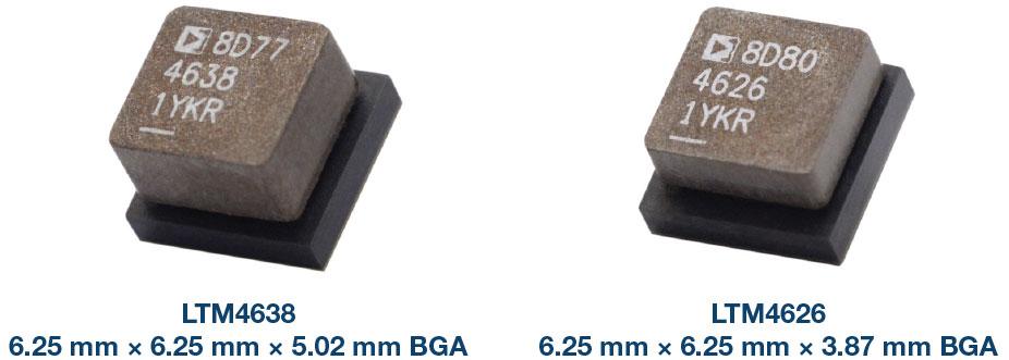 兩款μModule穩壓器的性能及設計整體解決方案
