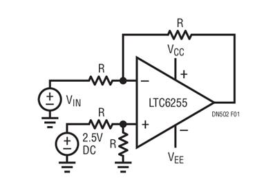 应用于运算放大器中的精密匹配电阻网络