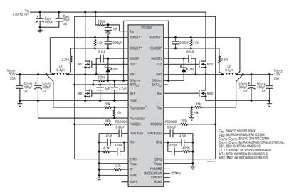 LTC3838双通道控制器的性能分析