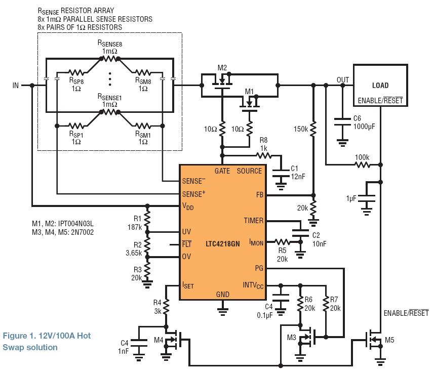 基于LTC4218的热插拔设计解决方案